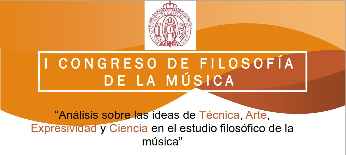I Congreso de Filosofía de la Música