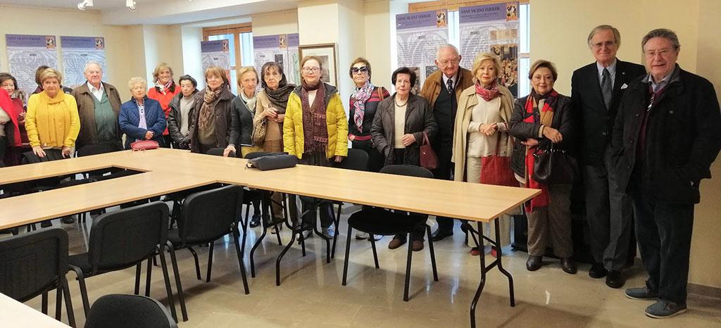 La ESEV visita la exposición de Sant Vicent FErrer