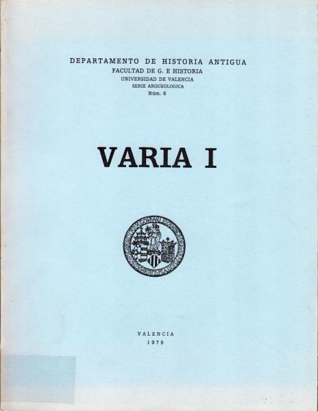 Varia I