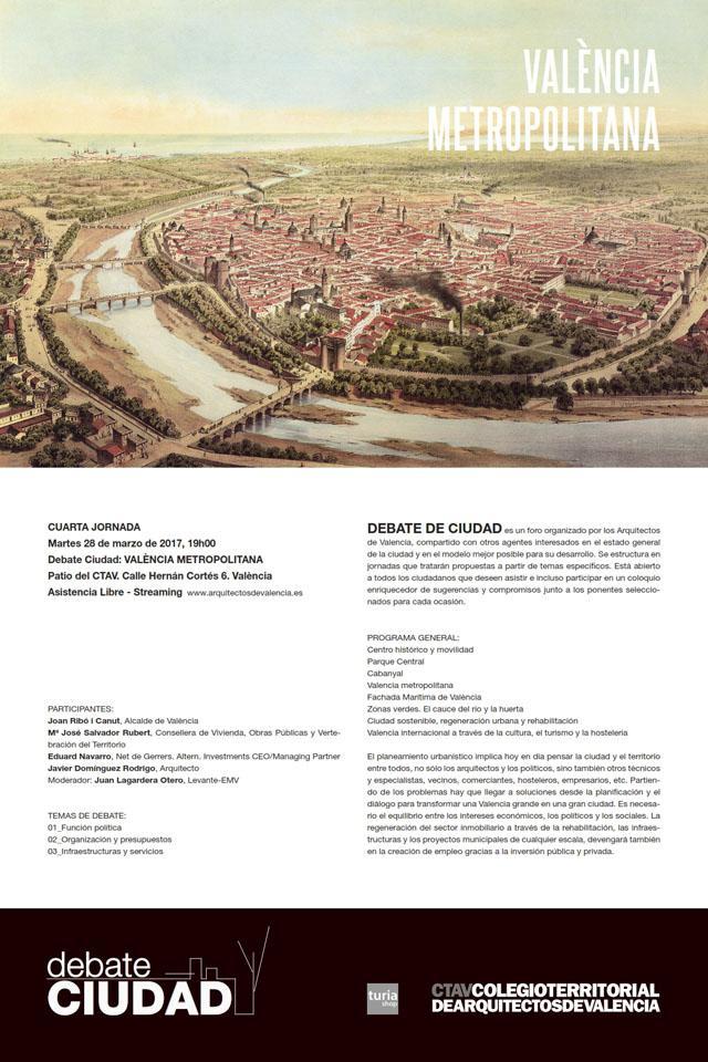 Debate ciudad: València Metropolitana