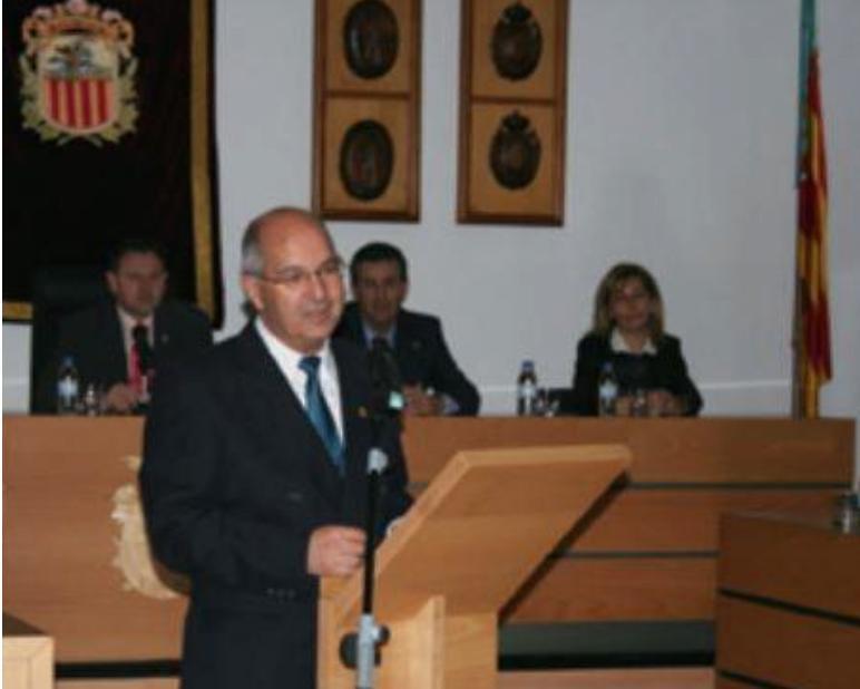 Francisco Llácer Bueno (foto: Ajuntament Algemesí)