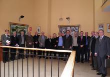 Foto de grupo de la IV Jornada de Académicos Correspondientes (foto: Javier Marco Tatay)