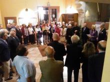 Bendición exposición Sant Vicent Ferrer
