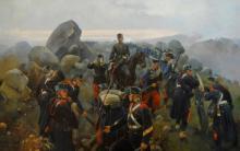 La presa del Collado d'Alpuente. Cusachs (3ª Guerra Carlista). Museu Militar de Valéncia.