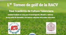 Primer Torneo de Golf de la RACV